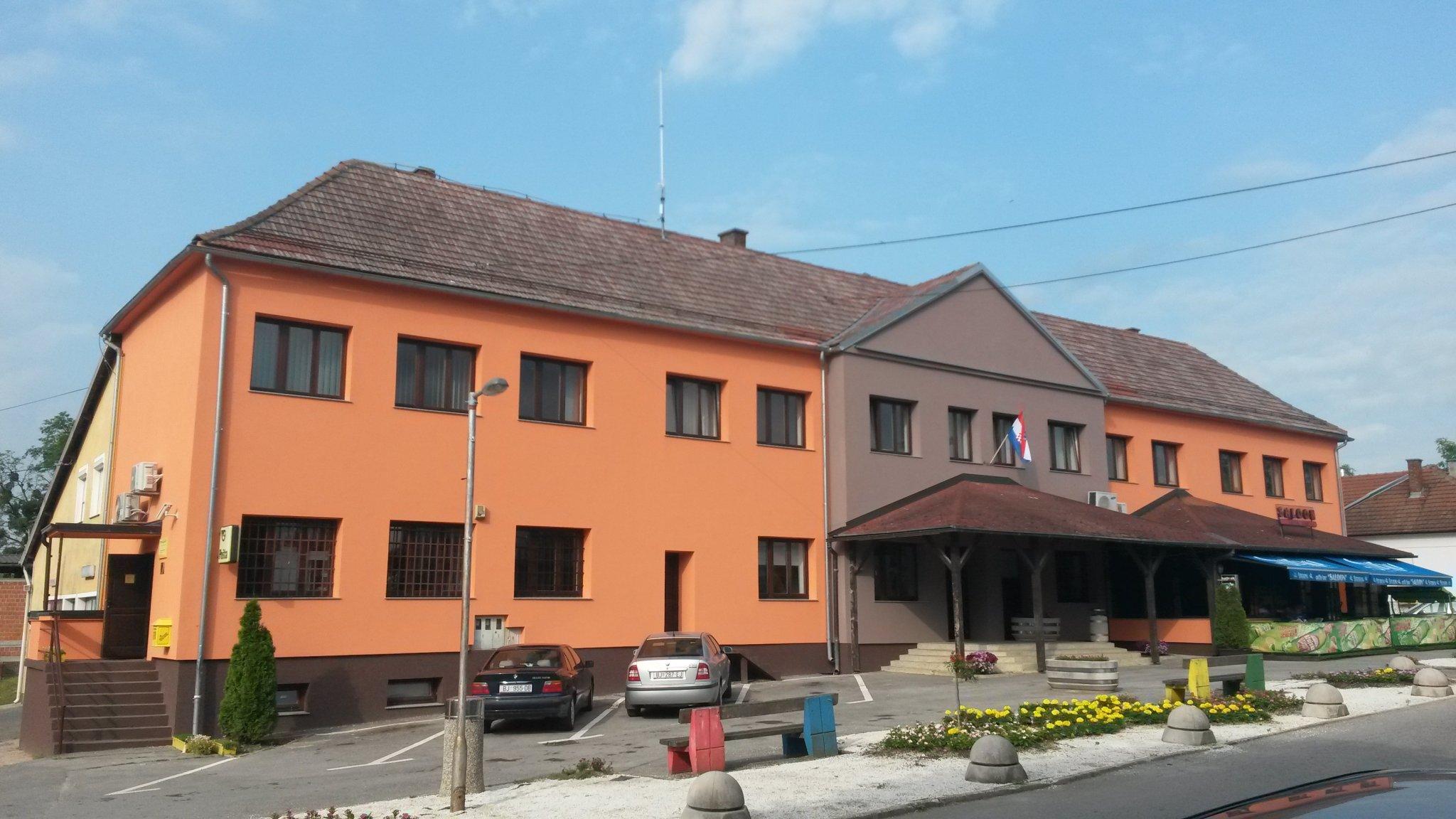 Zgrada općine - obnova 2016